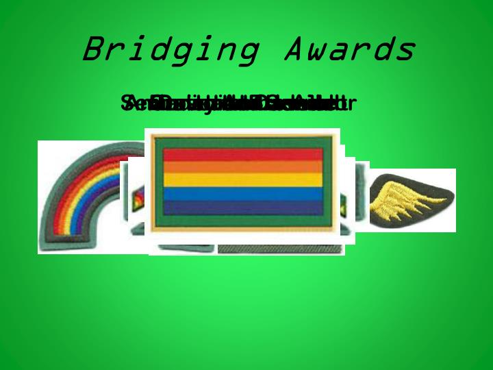 Bridging Awards