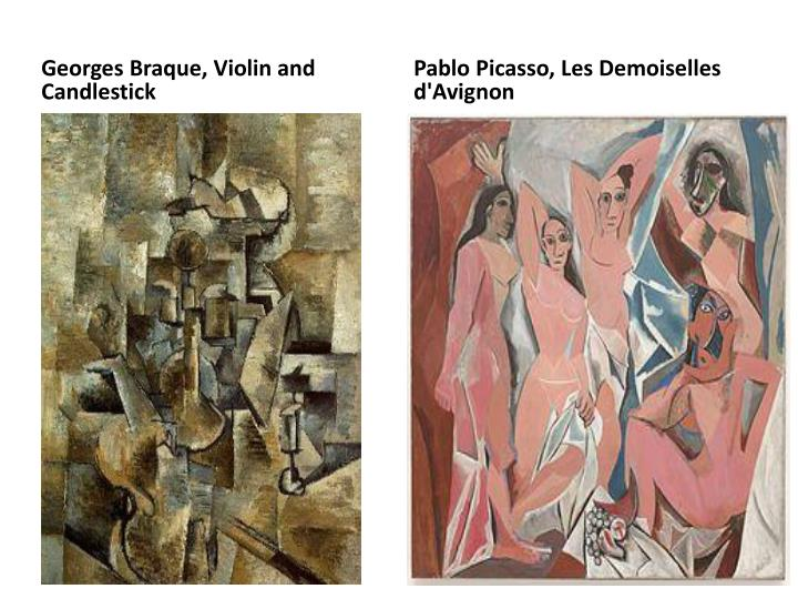 Georges Braque, Violin and Candlestick