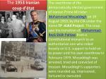 the 1953 iranian coup d tat