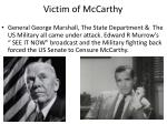 victim of mccarthy