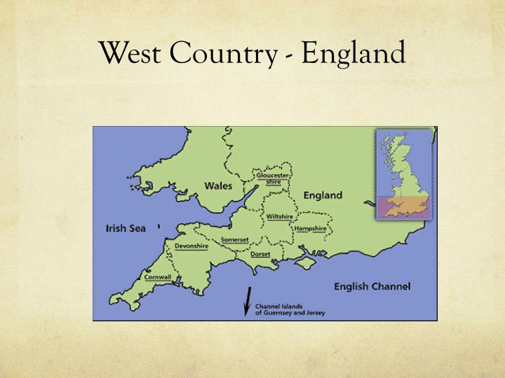 West Country - England