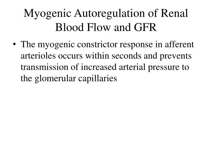 describe the effect of increasing the afferent arteriole radius on globular capillary pressure and f The afferent arterioles are a group of blood vessels that supply the nephrons in many excretory systems they play an important role in the regulation of blood pressure as a part of the tubuloglomerular feedback mechanism.