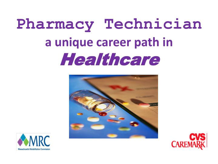 Pharmacy technician a unique career path in healthcare