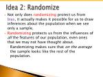 idea 2 randomize