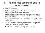 i rome s mediterranean empire 753 b c e 330 c e30