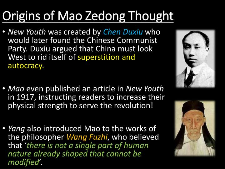explain the struggle between mao zedong Three chinese leaders: mao zedong, zhou enlai, and deng a failing mao refereed a struggle between those who benefited from the cultural.