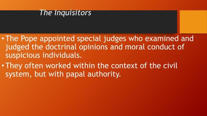 The Inquisitors