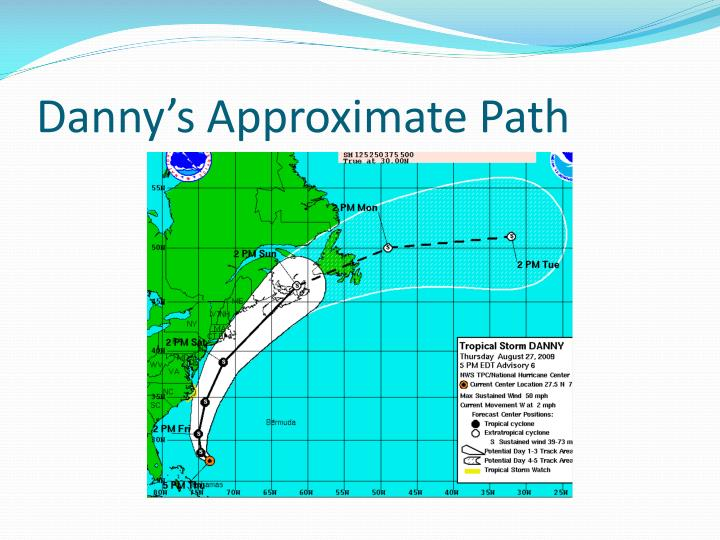 Danny's Approximate Path