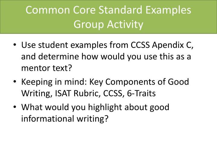 Common Core Standard