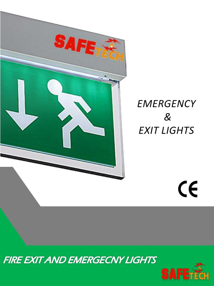 ONE ELECTRICAL OE-EM-EXIT-1 Emergency Maintained IP20 Exit Sign Light 2 x 8W T5