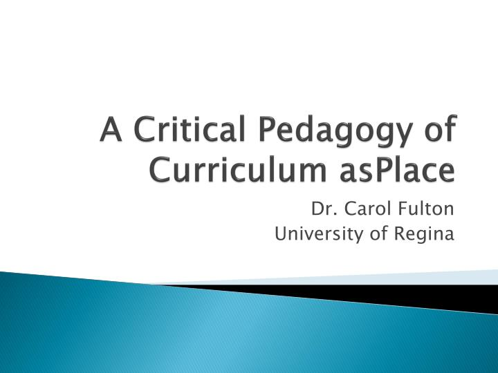 a critical pedagogy view Critical pedagogy, no matter how we define it, has a central place in the discussion of how learning is changing in the 21st century because critical pedagogy is primarily concerned with an equitable distribution of power.