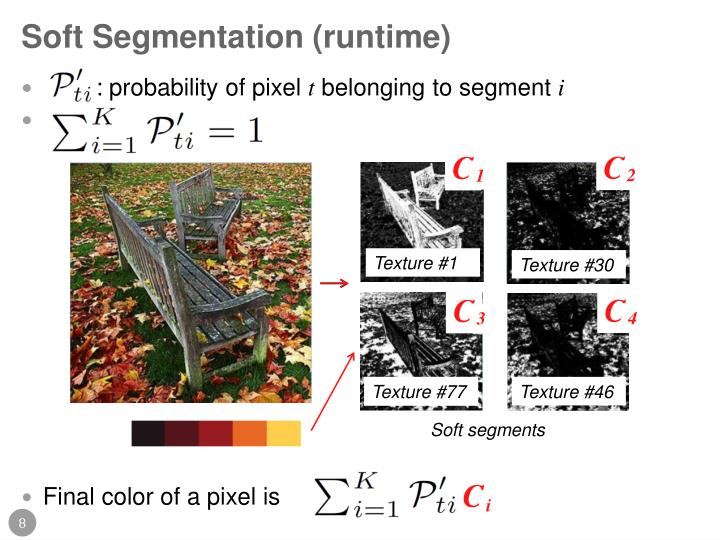 Soft Segmentation (runtime)