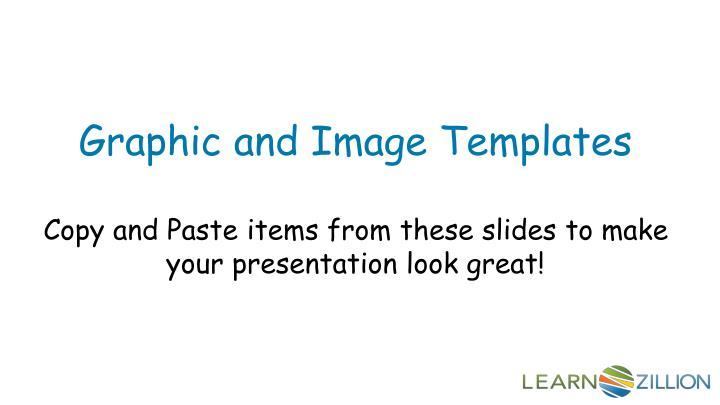 Graphic and Image Templates
