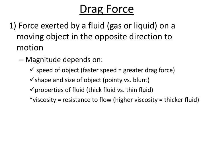 Drag Force