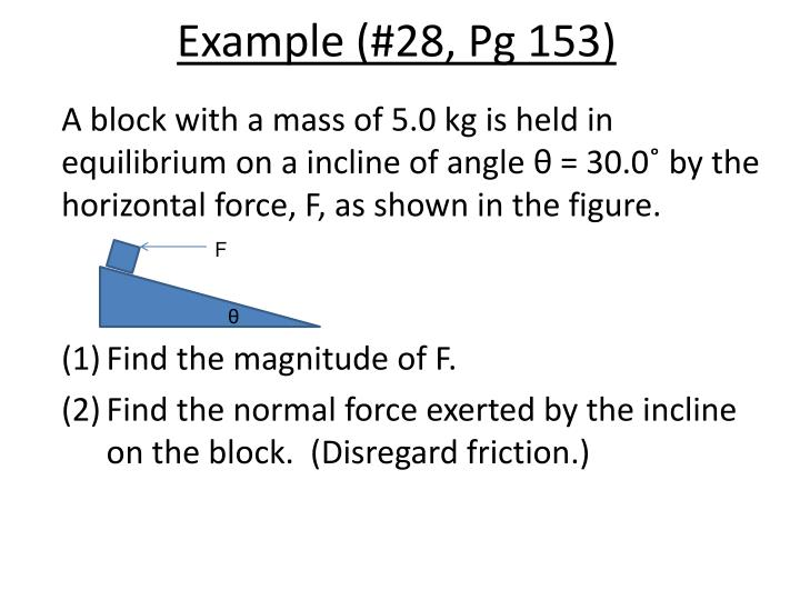 Example (#28, Pg 153)