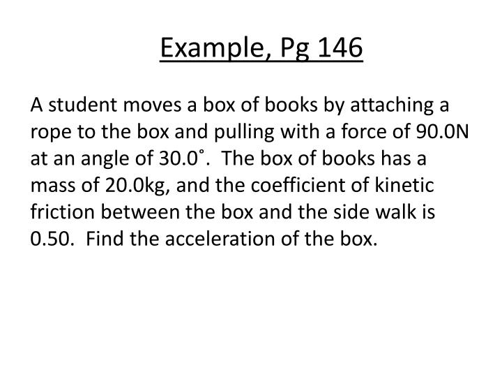 Example, Pg 146
