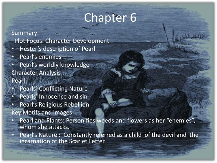 scarlet letter summary ppt the scarlet letter chapters 5 8 powerpoint 30699