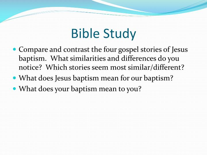 a study of the four gospels of christ Trends in study of the synoptic gospels understanding of christ that the gospels stand at the hinge to and after b h streeter's the four gospels.