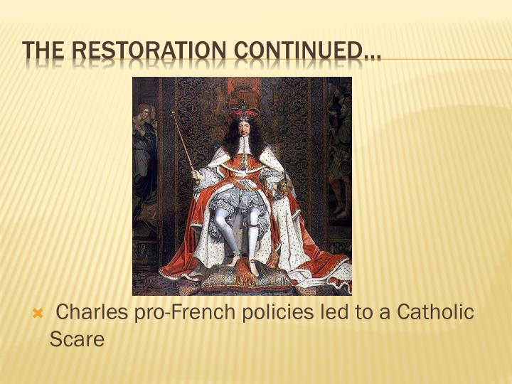 the restoration of the english monarchy The restoration of the english monarchy a detailed ppt on the restoration of charles ii with an 8 mark essay question and pointers on how to answer it for the new aqa gsce topic - restor.