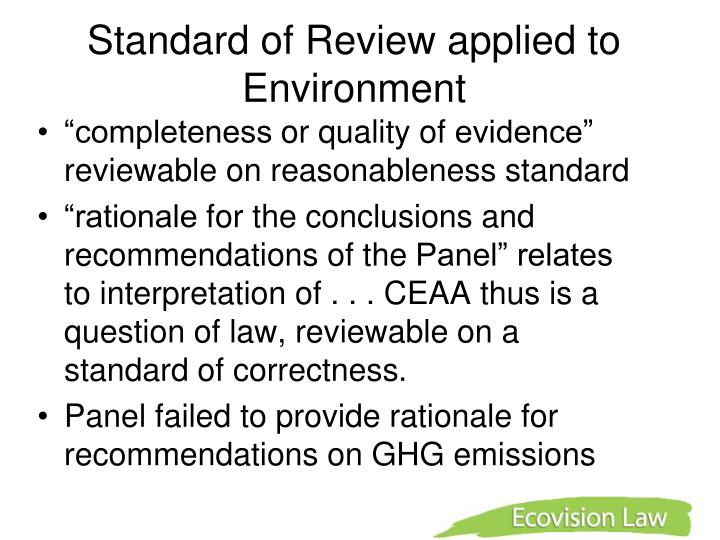 environmental decision making applied to decommissioning essay