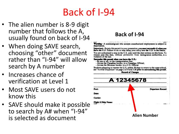 Back of I-94