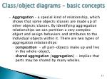 class object diagrams basic concepts5