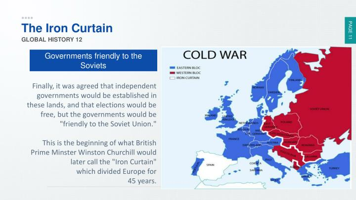 The Iron Curtain