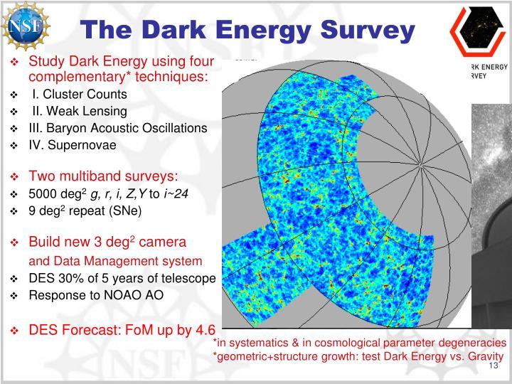 The Dark Energy Survey