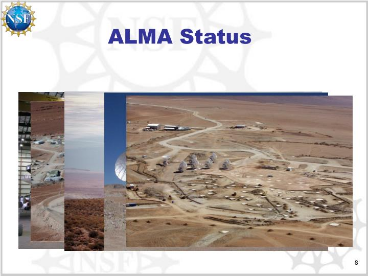 ALMA Status