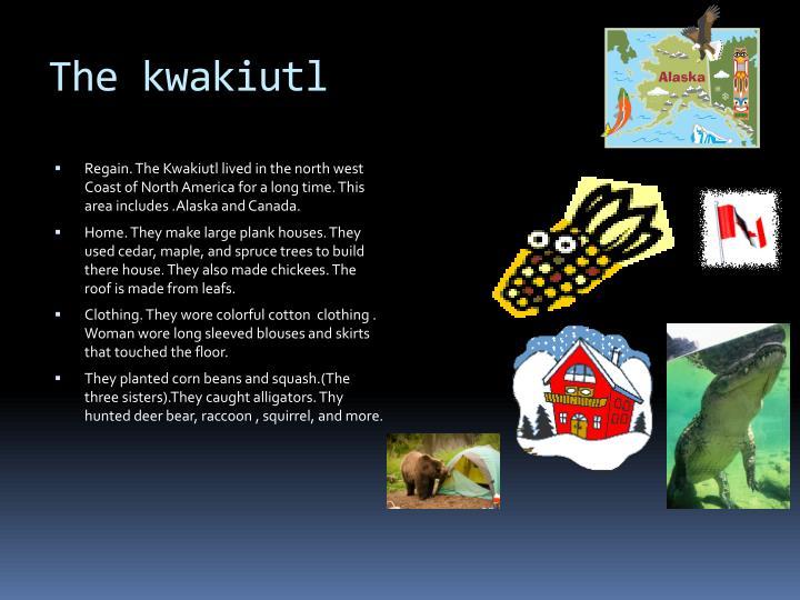 The kwakiutl