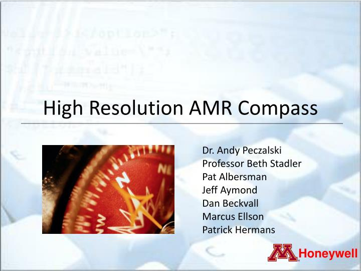 high resolution amr compass n.