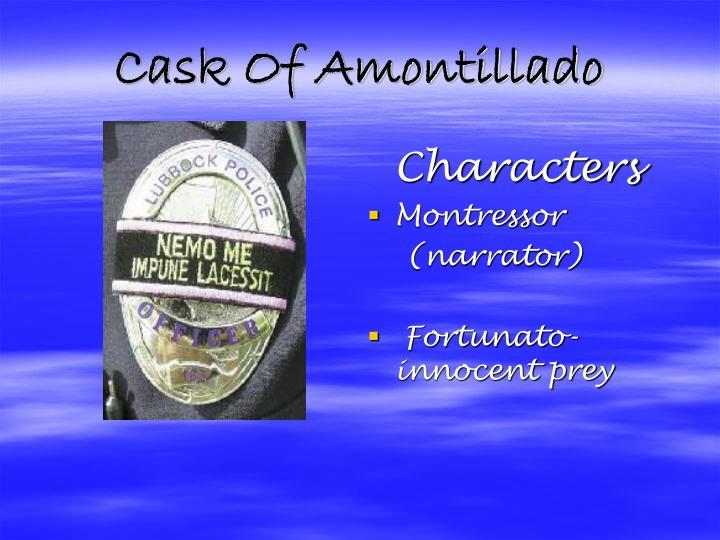 Cask Of Amontillado