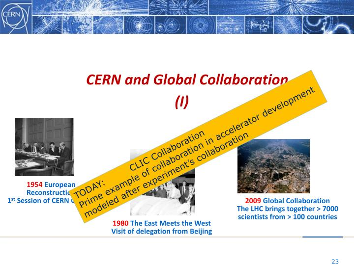 CERN and Global Collaboration