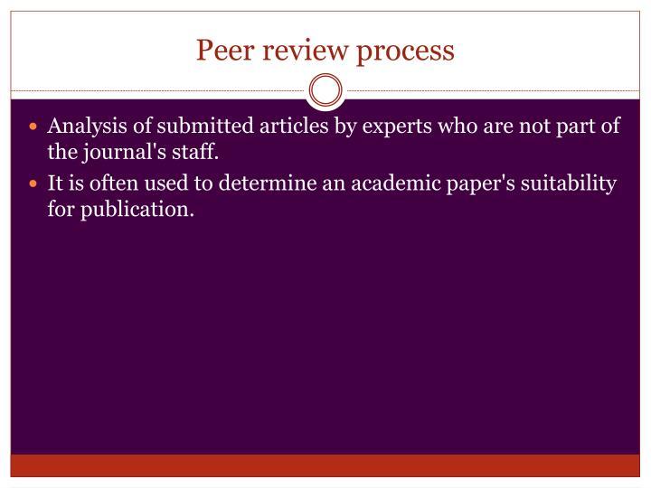 literary analysis essay peer review