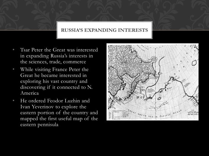 Russia s expanding interests