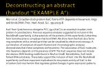 deconstructing an abstract handout example a