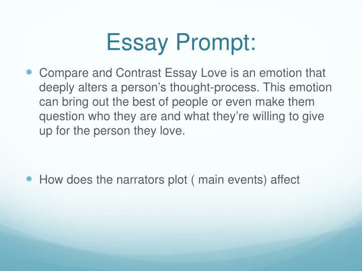 Essay Prompt: