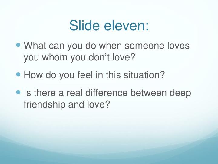 Slide eleven: