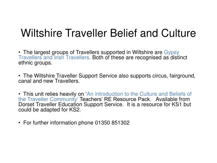 wiltshire trave ller belief and culture n.