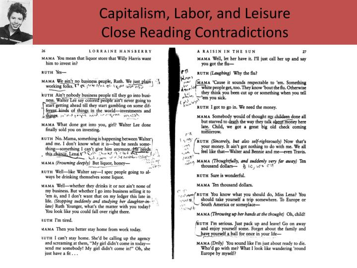 Capitalism, Labor, and Leisure