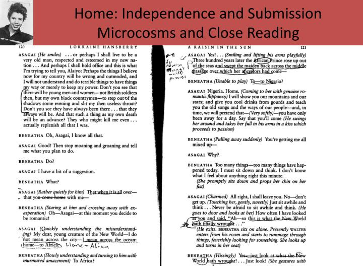 Home: Independence and Submission