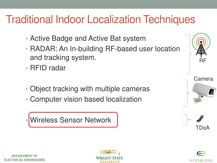 Traditional Indoor Localization Techniques