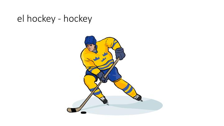 el hockey - hockey