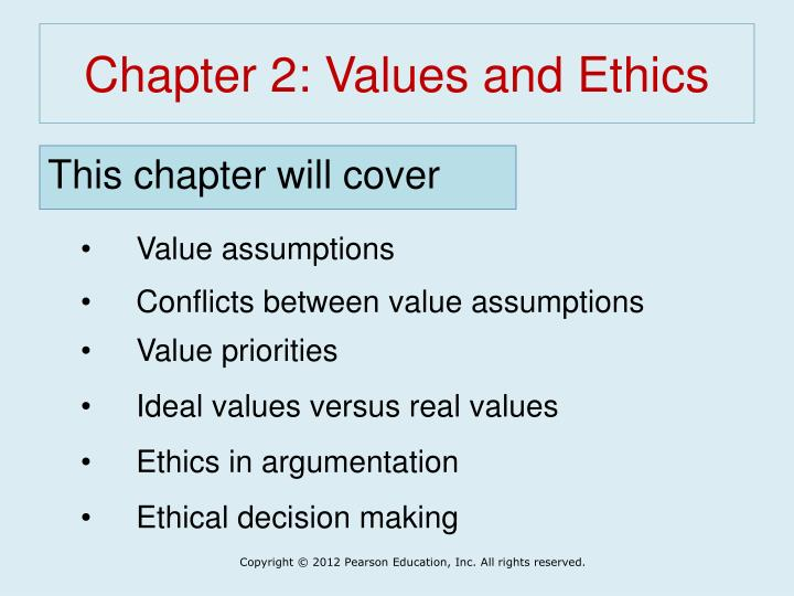 chapter 2 values and ethics n.