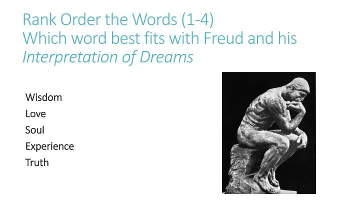 freud and his interpretations of dreams