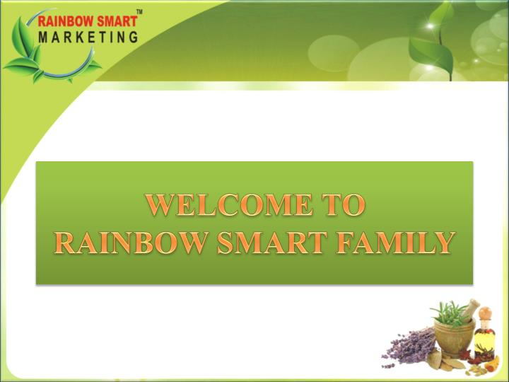 Welcome to rainbow smart family