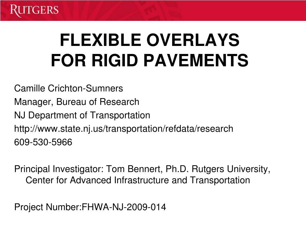 Concrete pavement design guidance notes.