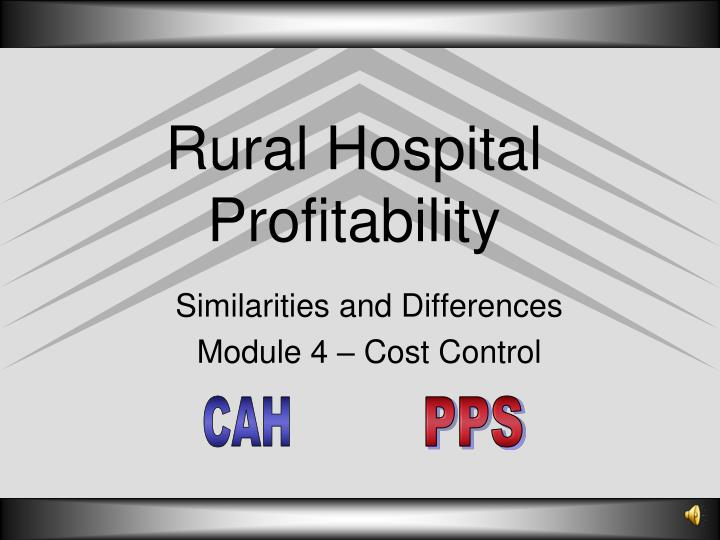 similarities and differences module 4 cost control n.