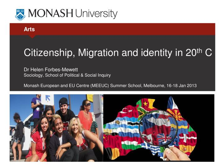 citizenship migration and identity in 20 th c n.