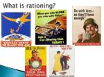 what is rationing